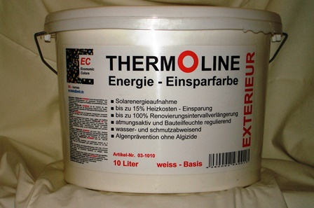 Thermoline Energie-Einsparfarbe