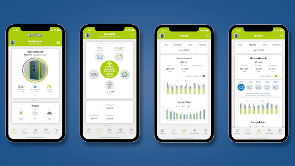 Kostal Solar-App