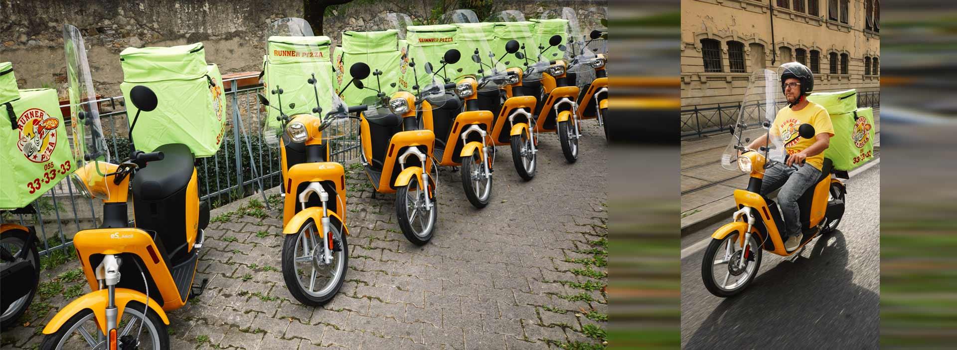 Elektroscooter Askoll eSpro Flotte