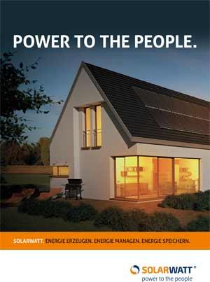 Broschuere Solarwatt