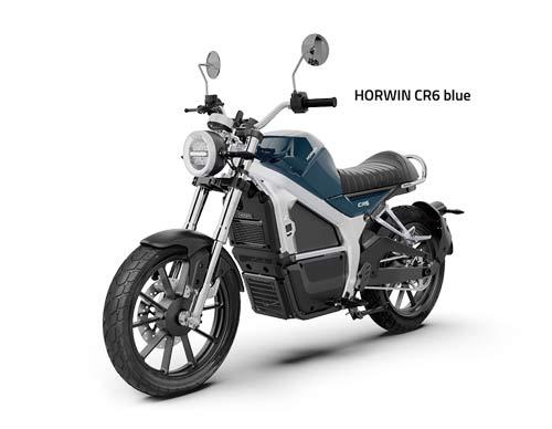 Horwin CR6 blau