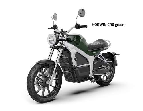 Horwin CR6 gruen