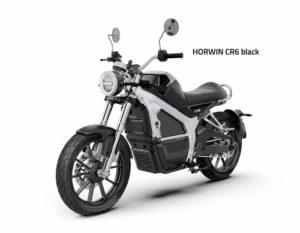 Horwin CR6 schwarz
