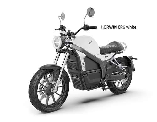 Horwin CR6 weiss